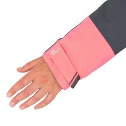 Veste voile femme 500 gris / rose