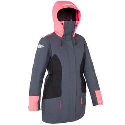 Zeiljas 500 voor dames, grijs/roze