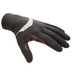 Segelhandschuhe Neopren 1mm 900 schwarz