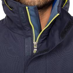 Chaqueta náutica hombre 100 azul / amarillo