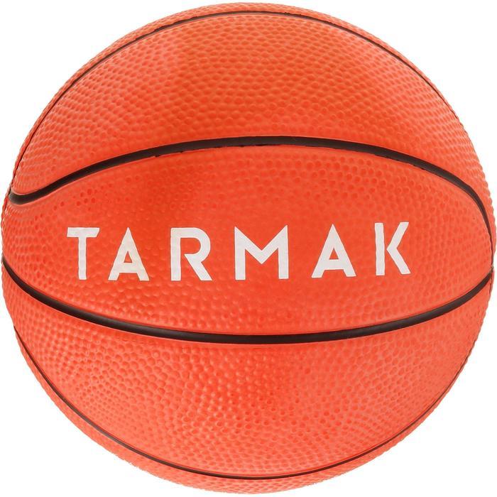 Mini balón de baloncesto para niños Mini B talla 1Hasta 4 años. Rojo/azul