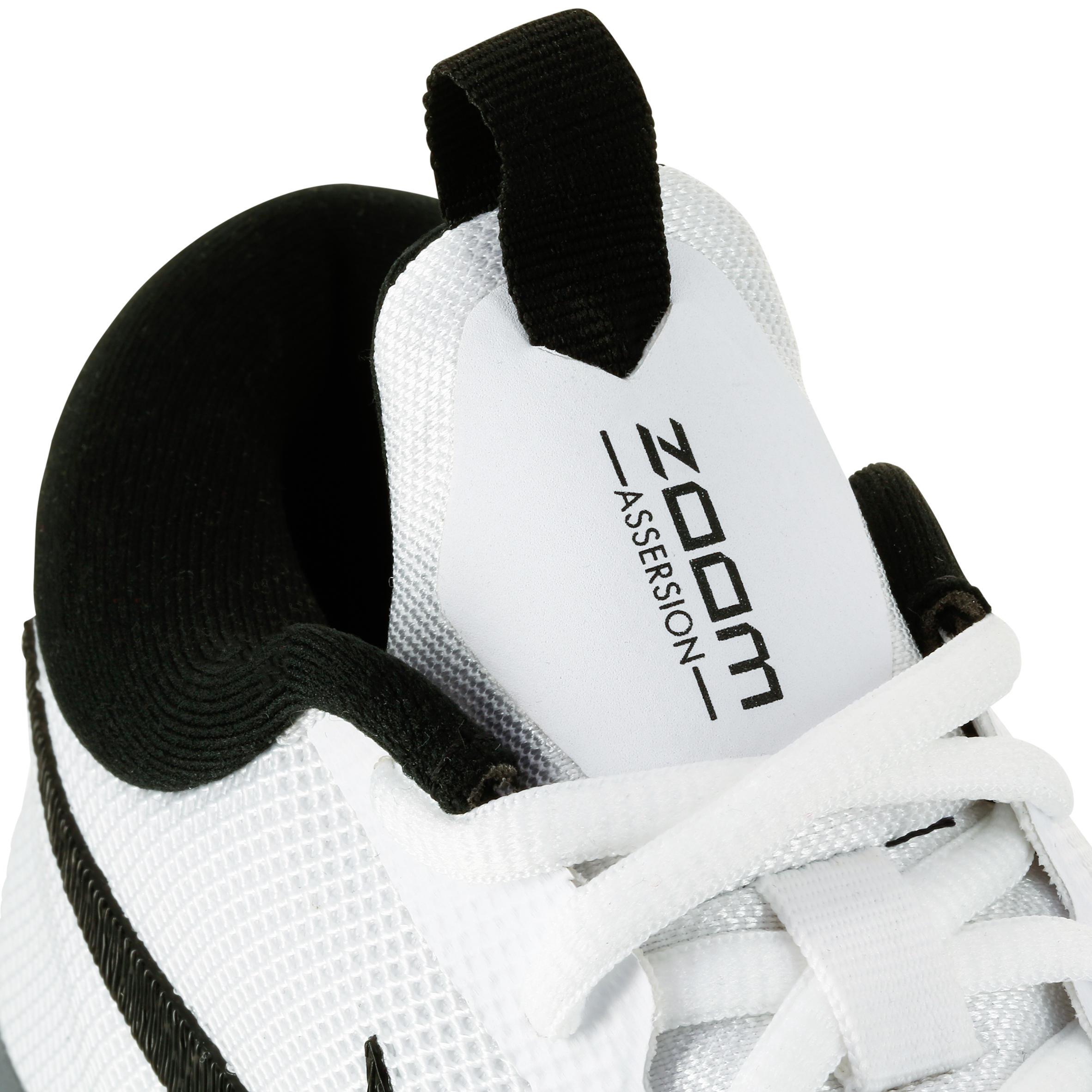 Blanche Nike Noire Basketball Assertion De Chaussure MVSGqzUp