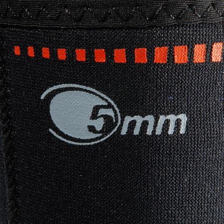 Neoprene SCD diving boots 5mm