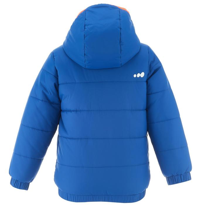 VESTE SKI ENFANT WARM REVERSE ROSE MOTIF CRISTAUX - 1236908