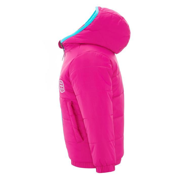 VESTE SKI ENFANT WARM REVERSE ROSE MOTIF CRISTAUX - 1236927