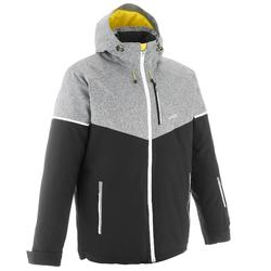 Chaqueta de esquí All Mountain hombre AM580 negro
