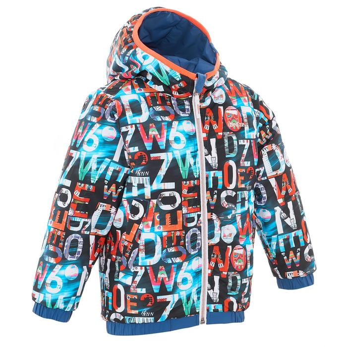 VESTE SKI ENFANT WARM REVERSE ROSE MOTIF CRISTAUX - 1236932