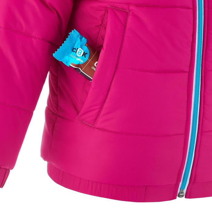 VESTE SKI ENFANT WARM REVERSE ROSE MOTIF CRISTAUX - 1236933