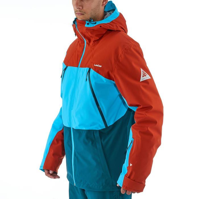 Veste de ski freeride homme free 700 ketchup - 1236937