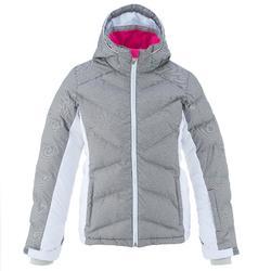 WARM MAXI 女童滑雪運動夾克 - 藍色 土耳其藍