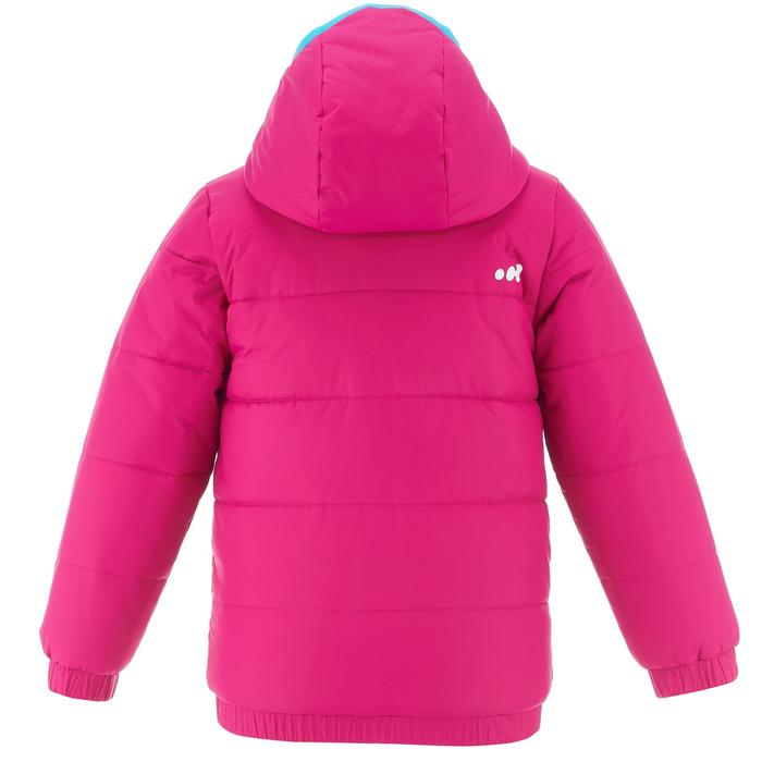 VESTE SKI ENFANT WARM REVERSE ROSE MOTIF CRISTAUX - 1236976