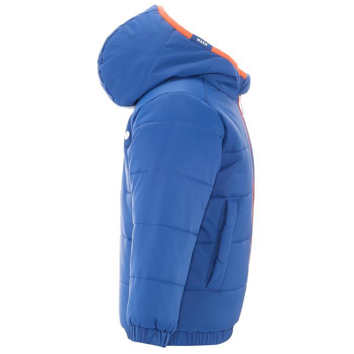 VESTE SKI ENFANT WARM REVERSE ROSE MOTIF CRISTAUX - 1236980
