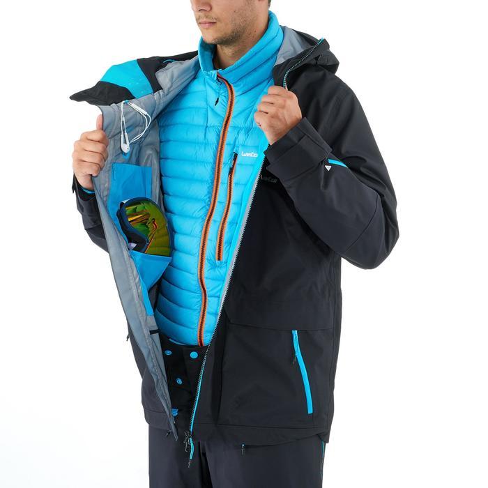 Veste de ski freeride homme free 900 noire - 1237012