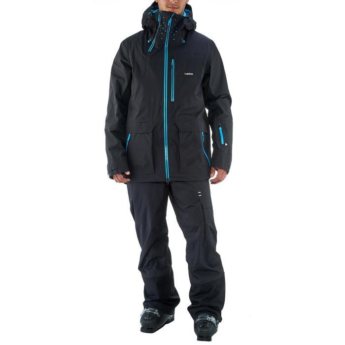 Veste de ski freeride homme free 900 noire - 1237013