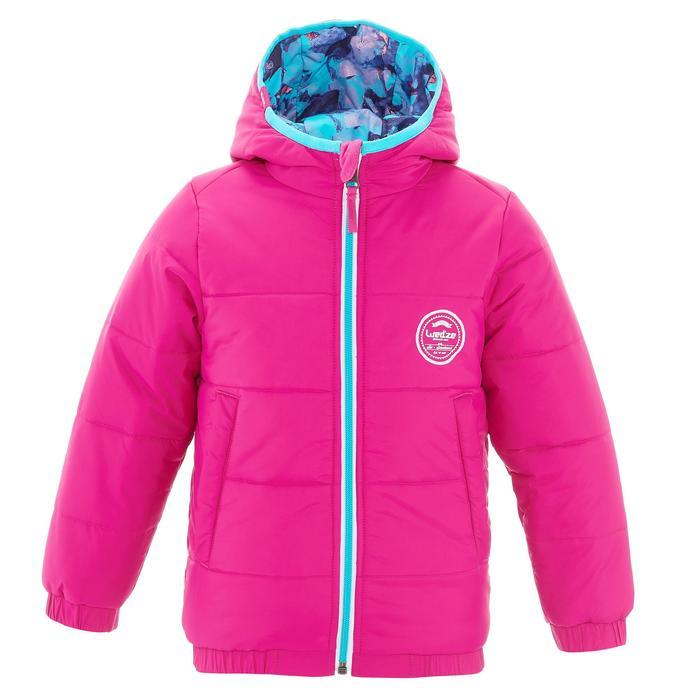 VESTE SKI ENFANT WARM REVERSE ROSE MOTIF CRISTAUX - 1237018