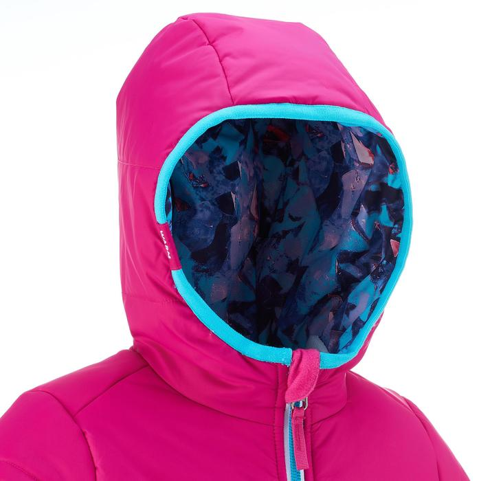 VESTE SKI ENFANT WARM REVERSE ROSE MOTIF CRISTAUX - 1237021
