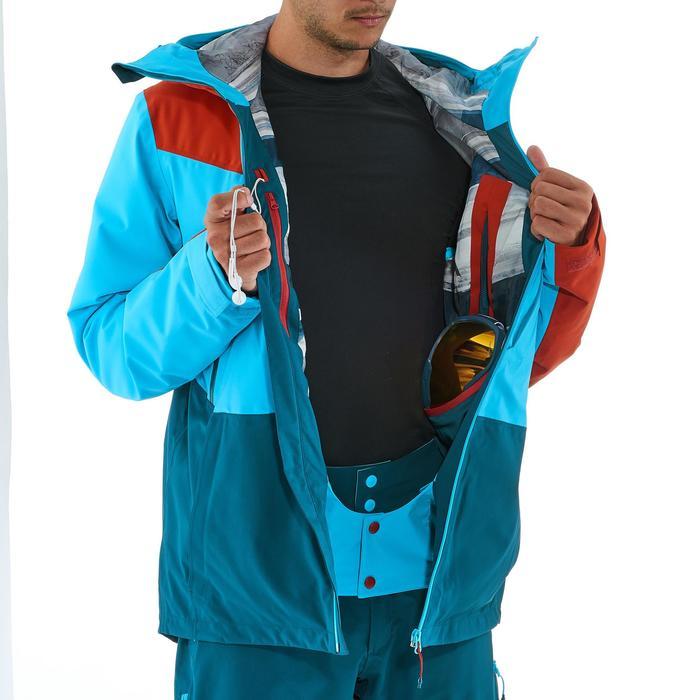 Veste de ski freeride homme free 700 ketchup - 1237029