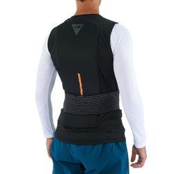 Rugbescherming voor skiën en snowboarden volwassenen DBCK 100 zwart