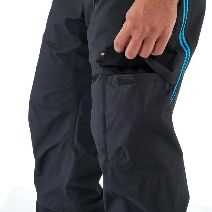 Pantalon de ski freeride homme free 900 noir - 1237067