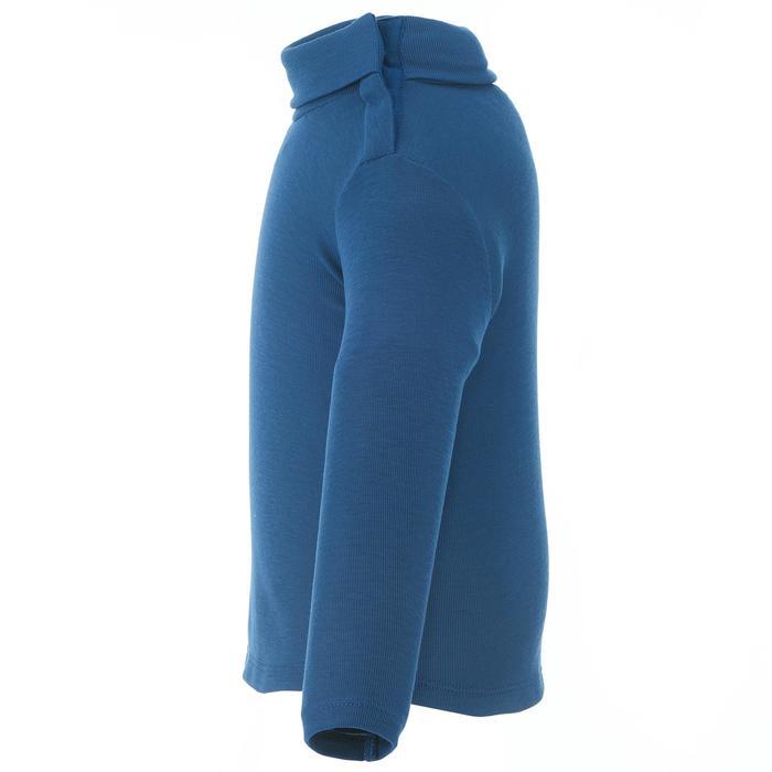 Camiseta Interior Térmica de Esquí Wed'ze Simple Warm Bebé Azul