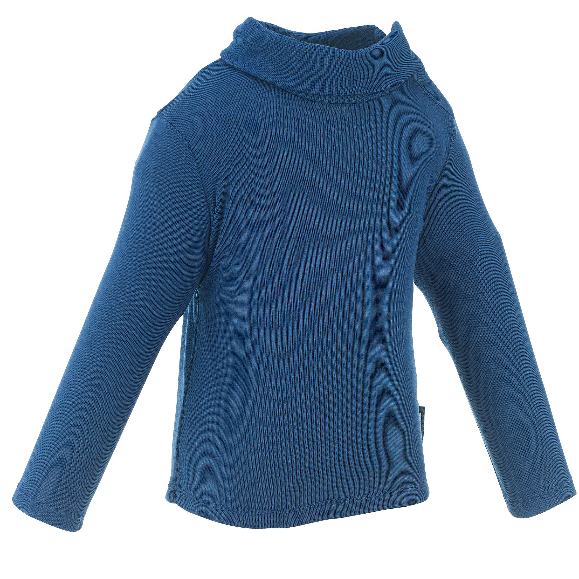Wed'ze Shirt Simple Warm voor peuters marineblauw thumbnail