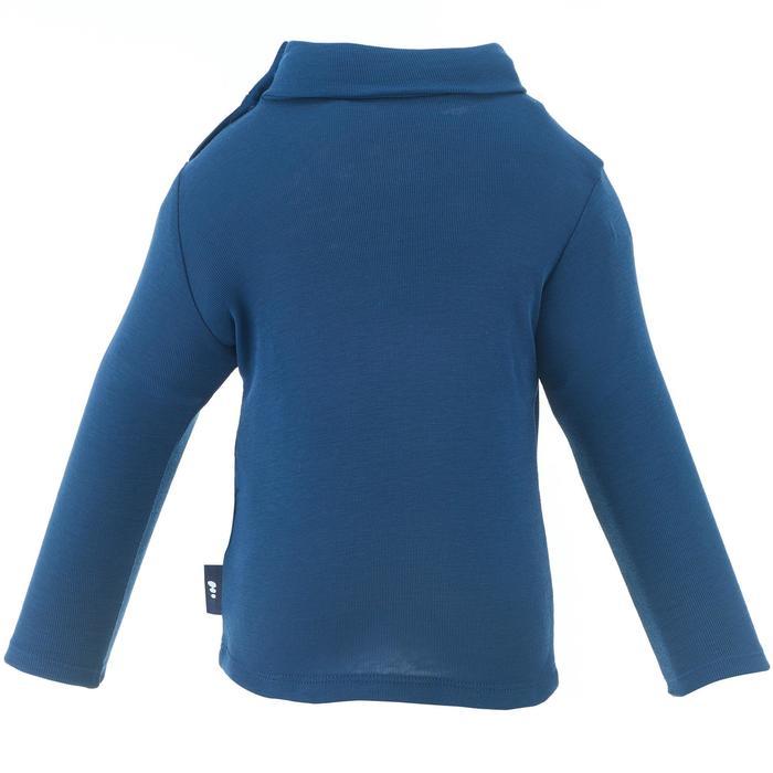 Camiseta térmica esquí y nieve interior wed'ze simple warm bebé azul marino