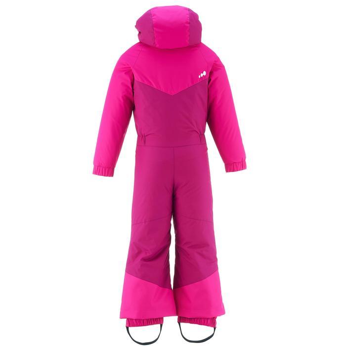 Schneeanzug Skianzug Piste 100 Kinder rosa