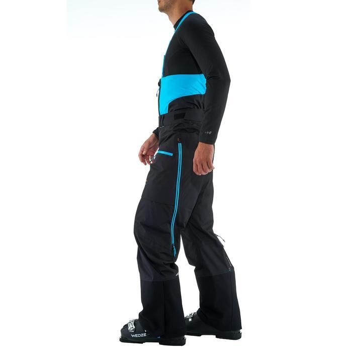 Pantalon de ski freeride homme free 900 noir - 1237102