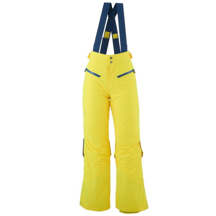 Skibroek voor kinderen SKI-P PA 900 PNF geel