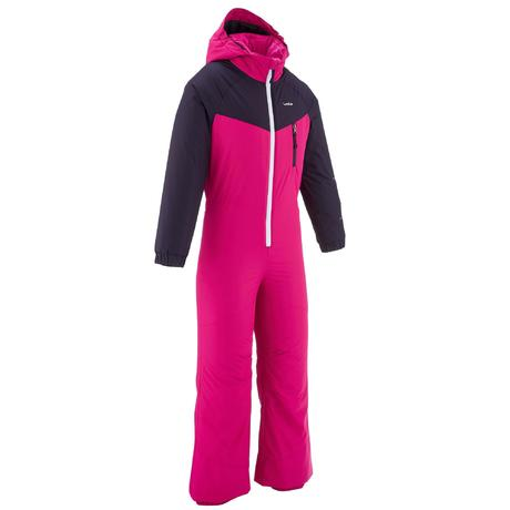 combinaison de ski enfant ski p suit 100 rose wedze. Black Bedroom Furniture Sets. Home Design Ideas