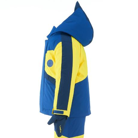 ensemble de ski enfant ski p combo 500 pnf bleu et jaune wedze. Black Bedroom Furniture Sets. Home Design Ideas