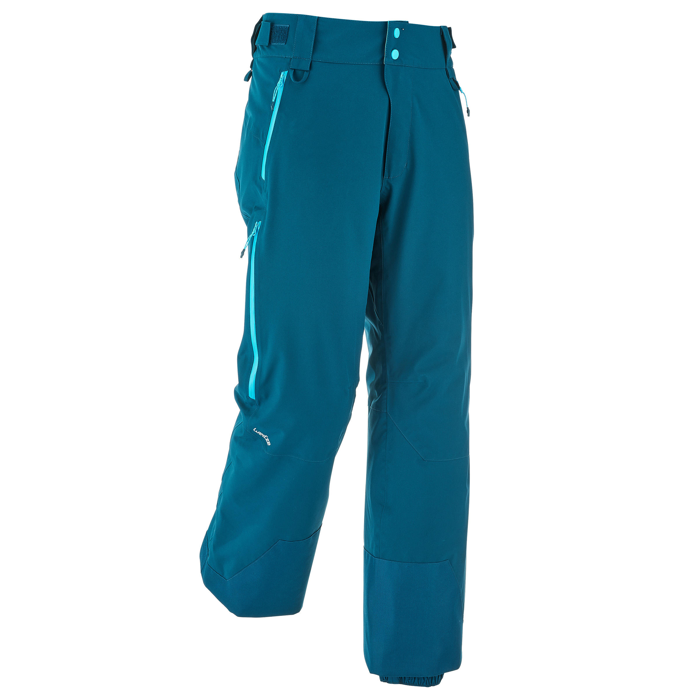 Pantalon de ski tout-terrain homme free 500 pétrole