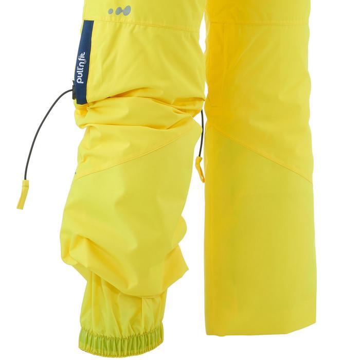 Skihose Piste 900 PNF Kinder gelb