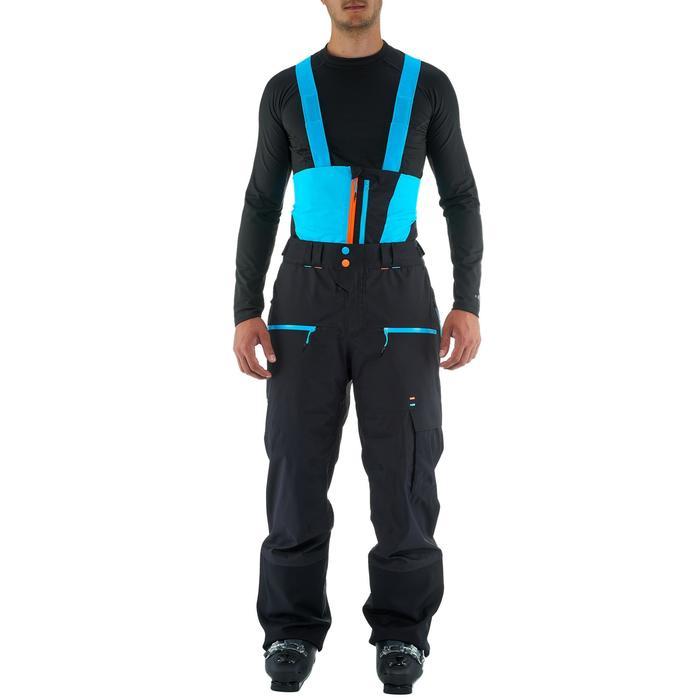 Pantalon de ski freeride homme free 900 noir - 1237182