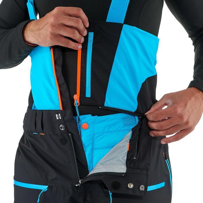 Pantalon de ski freeride homme free 900 noir - 1237232