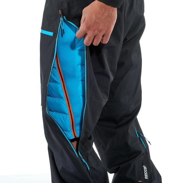 Pantalon de ski freeride homme free 900 noir - 1237251