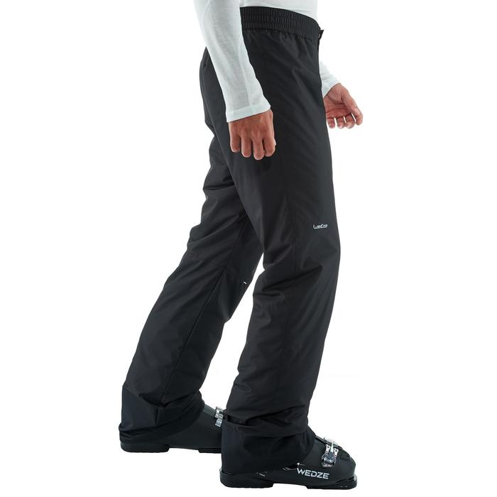 Heren skibroek voor pisteskiën SKI-P PA 50 zwart