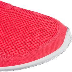 Escarpines Cangrejeras Zapatillas Acuáticas de Snorkel Subea SNK120 Adulto Rosa