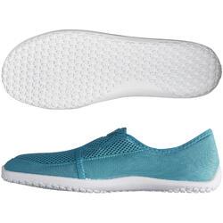 Escarpines Cangrejeras Zapatillas Acuáticas de Snorkel Subea SNK120 Adulto Azul