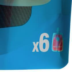 Iso-Getränkesirup für Trinkflasche Double Use rote Früchte 6×43ml