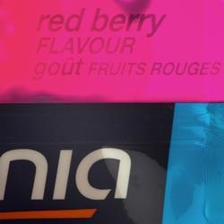 Zakjes isotone sportdrank ISO+ rode vruchten 6x 43 ml