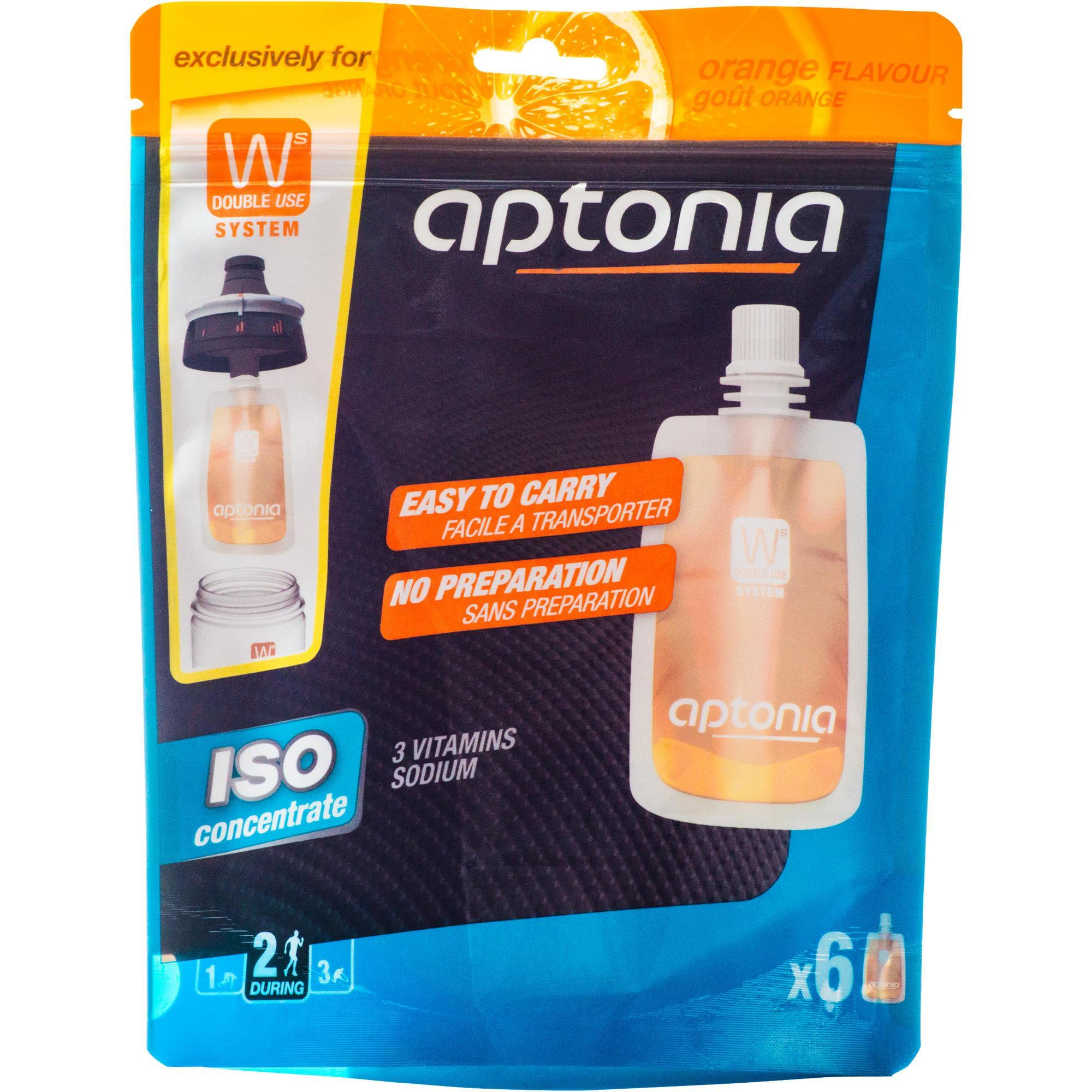 Iso-Getränkesirup für Double Use-Trinkflasche Orange 6 נ43 ml