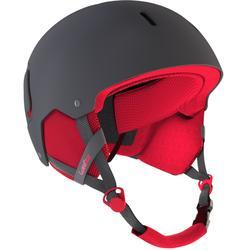 Feel 400 Ski and Snowboard Helmet - Grey/Pink