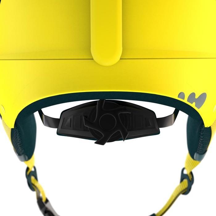 Casco de esquí y de snowboard niños Feel 400 JR amarillo