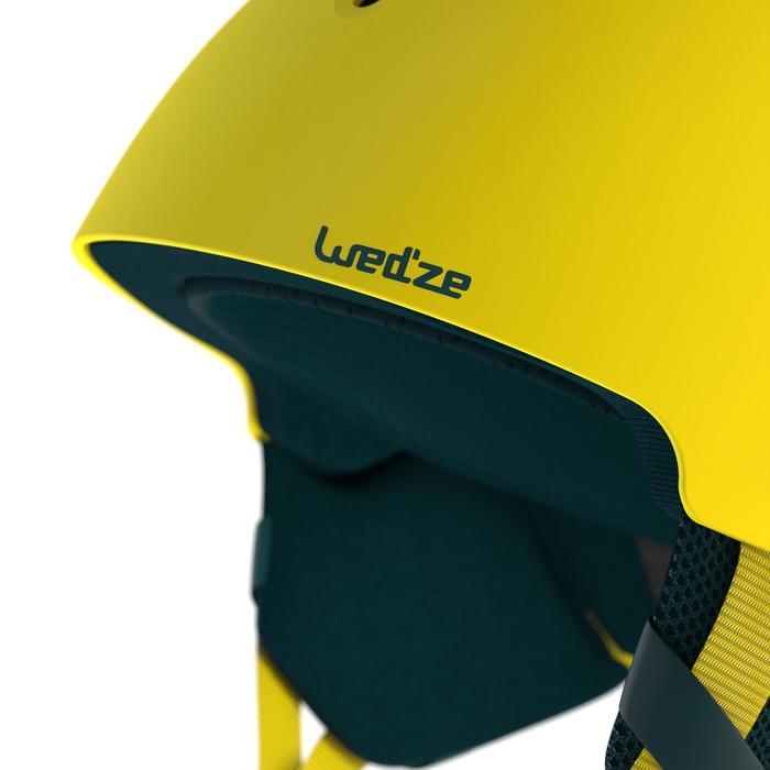 Ski- en snowboardhelm voor kinderen Feel 400 geel