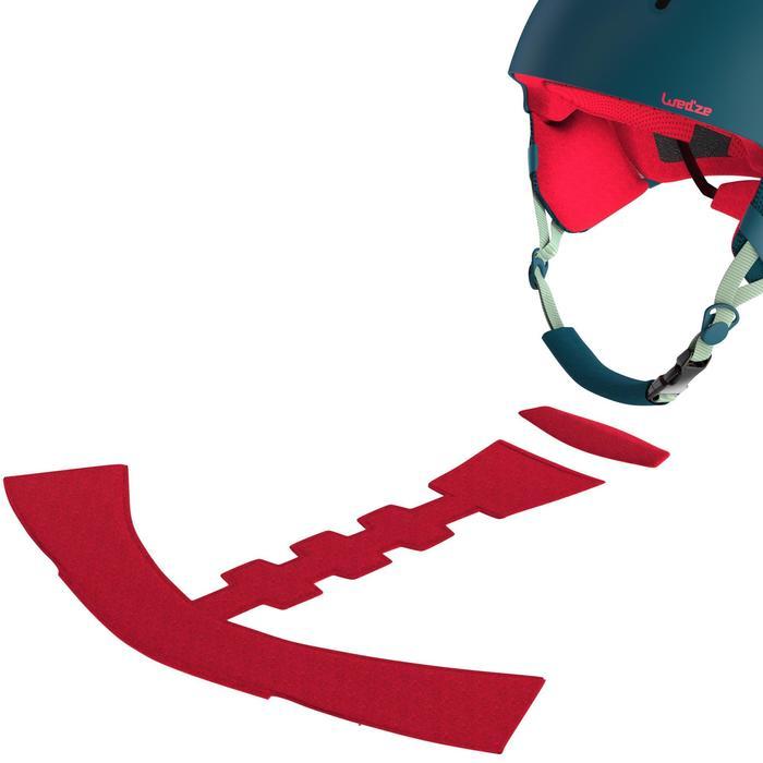 Ski- en snowboardhelm voor kinderen Feel 400 blauw/roze