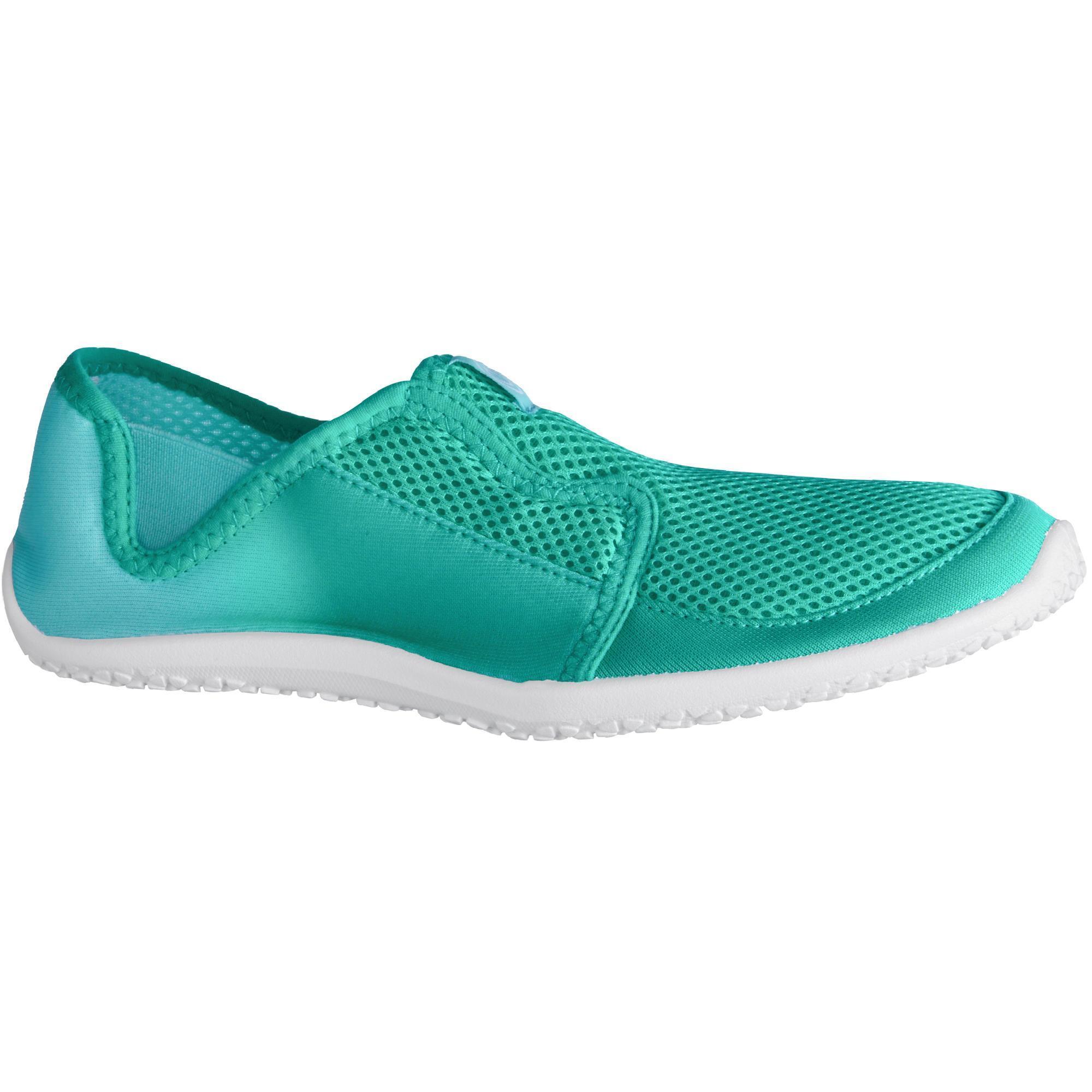 Subea Aquashoes 120 voor volwassenen dégradé groen turquoise