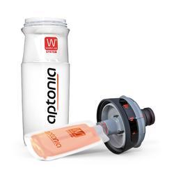Trinkflasche Double Use 700ml schwarz