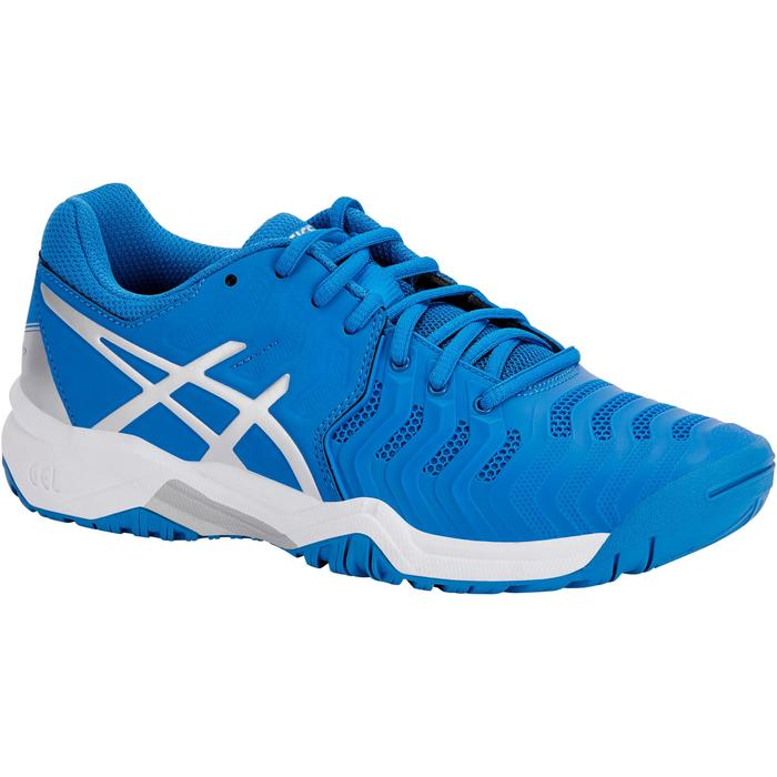 CHAUSSURES DE TENNIS ENFANT ASICS GEL RESOLUTION JR BLEU - 1237621