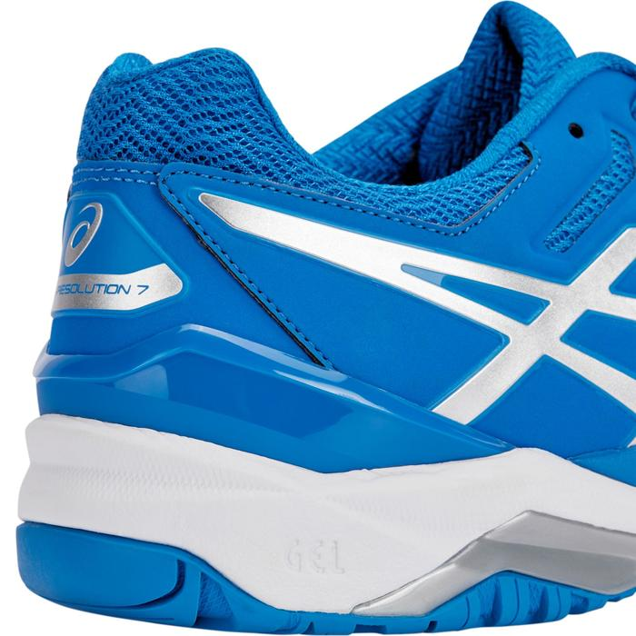 CHAUSSURES DE TENNIS ENFANT ASICS GEL RESOLUTION JR BLEU - 1237631